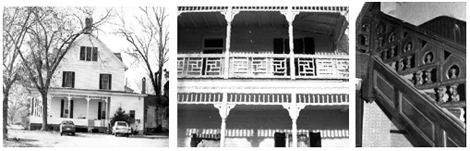Photos of the historical Wilson House