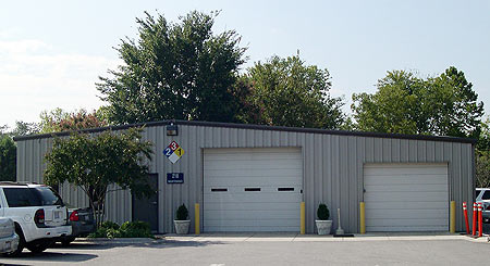 Photo of Maintenance Department Building