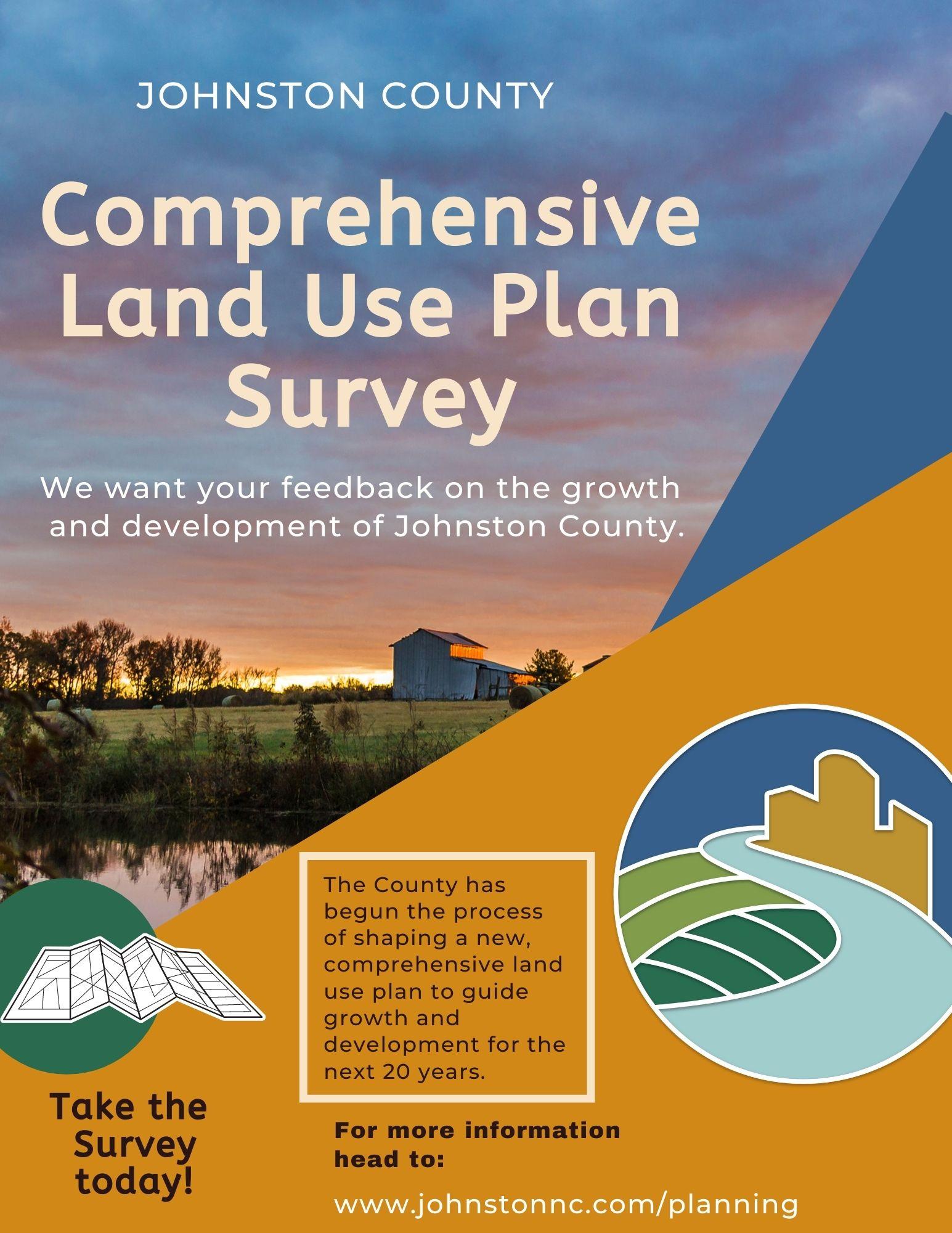 Johnston County Comprehensive Land Use Plan Flyer